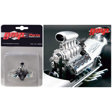 Blown Drag Engine and Transmission Replica from