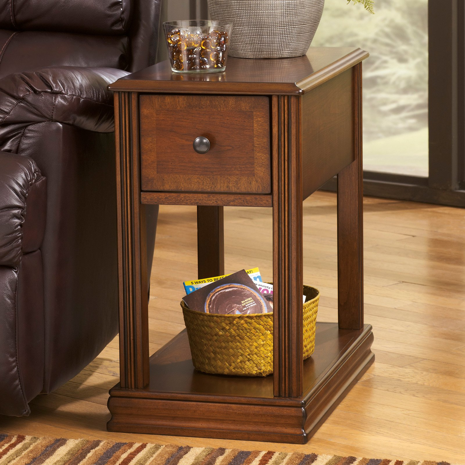 Pierce Chairside Table   Walmart.com