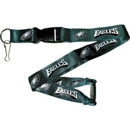 NFL Philadelphia Eagles Team Lanyard, One Size, Multi