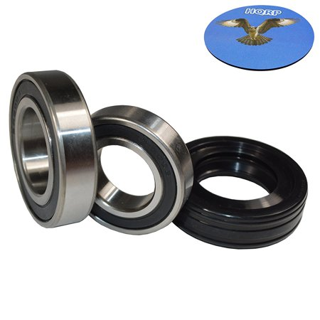HQRP Bearing and Seal Kit for Whirlpool WTW6700TU1 WTW6700TU2 WTW6700TW0 WTW6700TW1 WTW6700TW2 WTW6800WB1 WTW6800WE1 WTW6800WL1 WTW6800WU1 WTW6800WW1 WTW7300XW1 WTW7300XW2 Washer Tub + HQRP