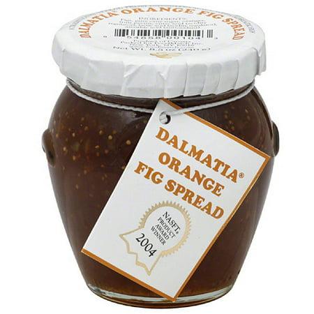 Dalmatia Orange Fig Spread, 8.5 oz, (Pack of 12)