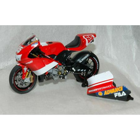 Ducati Desmo 16 1 Gp Victory Dirty Version Diecast Model