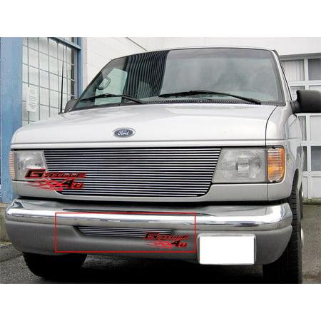 Fits 92-07 Ford Econoline Van Bumper Billet Grille Insert