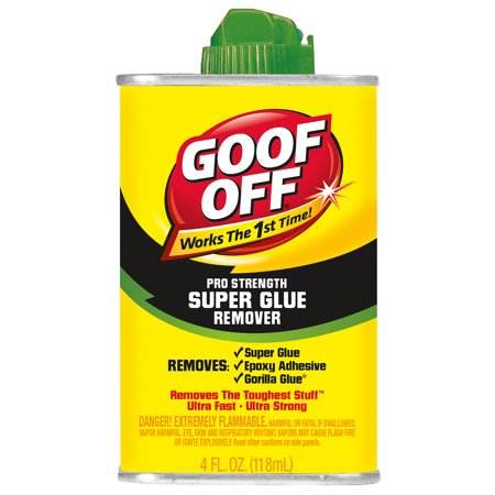 Goof Off FG677 4 oz. Glue Remover