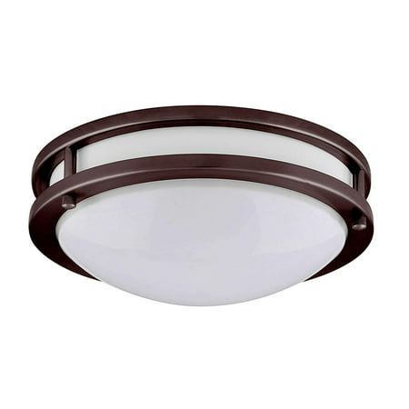 Amax Lighting LED Ceiling Fixtures LED-JR00 LED Two Ring Flush Mount Ceiling Fixture