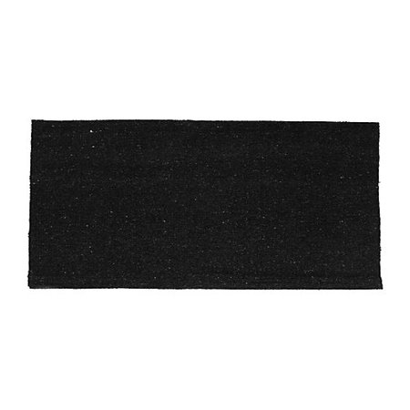 Tough-1 Solid Acrylic Saddle Blanket Black 32X32