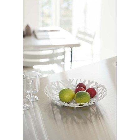 Yamazaki Bowls - YAMAZAKI home Tower Fruit Bowl, White