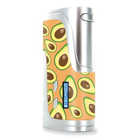 Skin Decal Wrap for Wismec Reuleaux RX200 mod sticker vape Orange Avocados