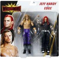 "Jeff Hardy & Edge - WWE Battle Packs ""WrestleMania 35"""" Toy Wrestling Action Figures"