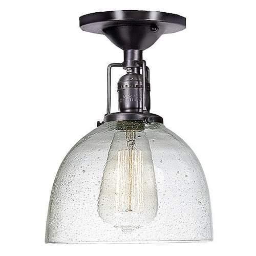 JVI Designs  1202 S5-CB  Ceiling Fixtures  Union Square  Indoor Lighting  Flush Mount  ;Gun Metal