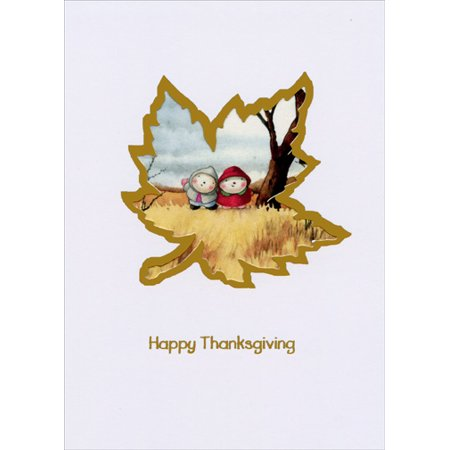 Maple Leaf Die Cuts (Recycled Paper Greetings Maple Leaf Die Cut Mary Melcher Thanksgiving)