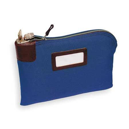 Night Deposit Bag (Night Deposit Bag,8-1/2x11x1/2,Blue MMF INDUSTRIES)