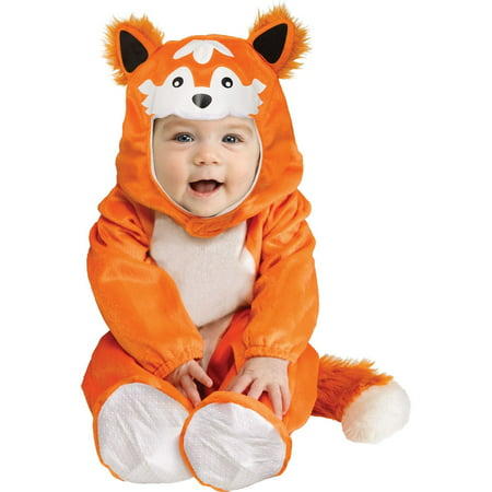 Halloween Baby Fox Costume (Baby Skunk Halloween Costume Pattern)