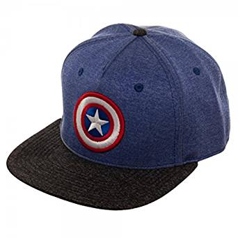 Baseball Cap - Marvel - Captain America 2 Tone Cationi New sb4rv6mvu](Captain America Graduation Cap)