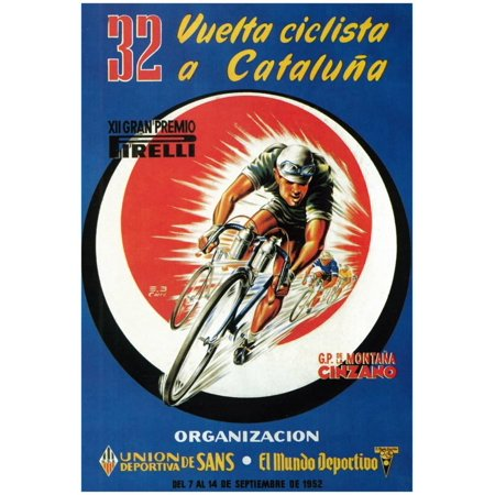- Bicycle Racing Promotion Poster - 13x18.5