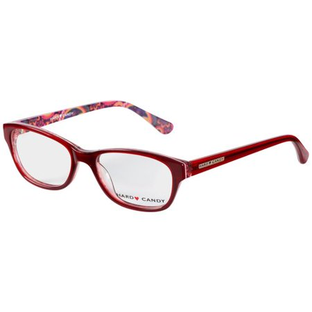 Hard Candy HC33 Eyeglass Frames - Red - Walmart.com
