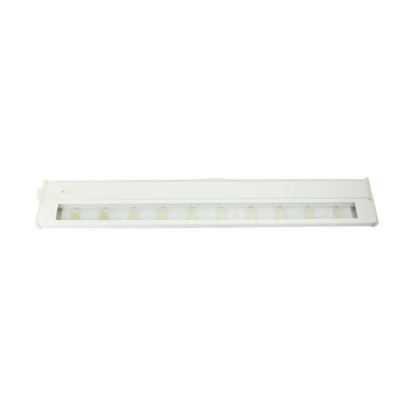 "Image of AFX Lighting NLL22WH Noble LED Series Task Undercabinet Light, 22"" 120V, Dimmable"