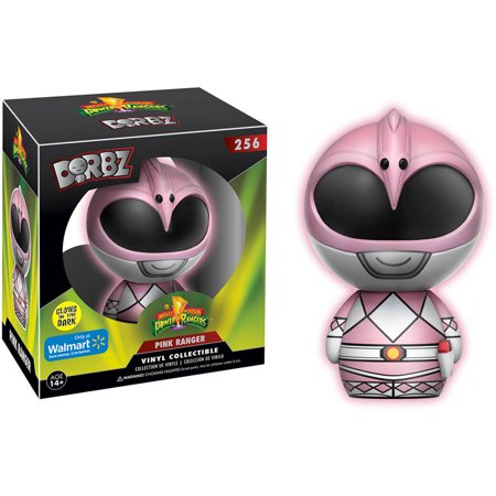 Funko Dorbz: Power Rangers, Pink Ranger, Glow-in-the-Dark Walmart Exclusive