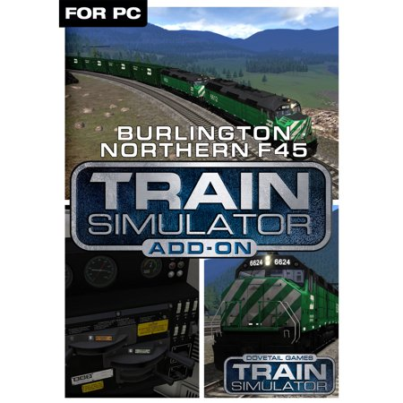 - Train Simulator Add-On - Burlington Northern F45 (PC)(Digital Download)