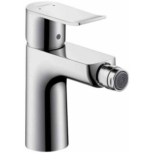 Hansgrohe 31280821 Metris Bidet Faucet with Drain Assembly, Various Colors