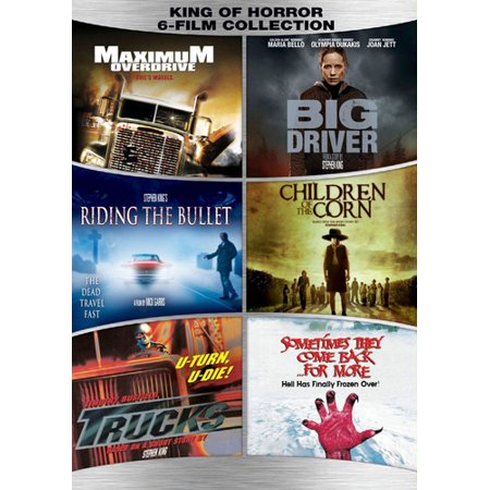 - Stephen King 6-film Collection (DVD)