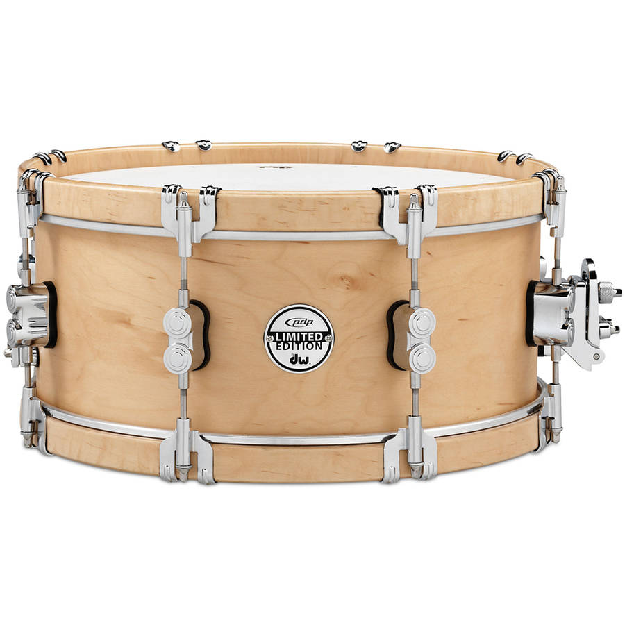 "Pacific PDP LIMITED Classic Wood Hoop 6"" x 14"" Snare Drum w/ Claw Hooks"