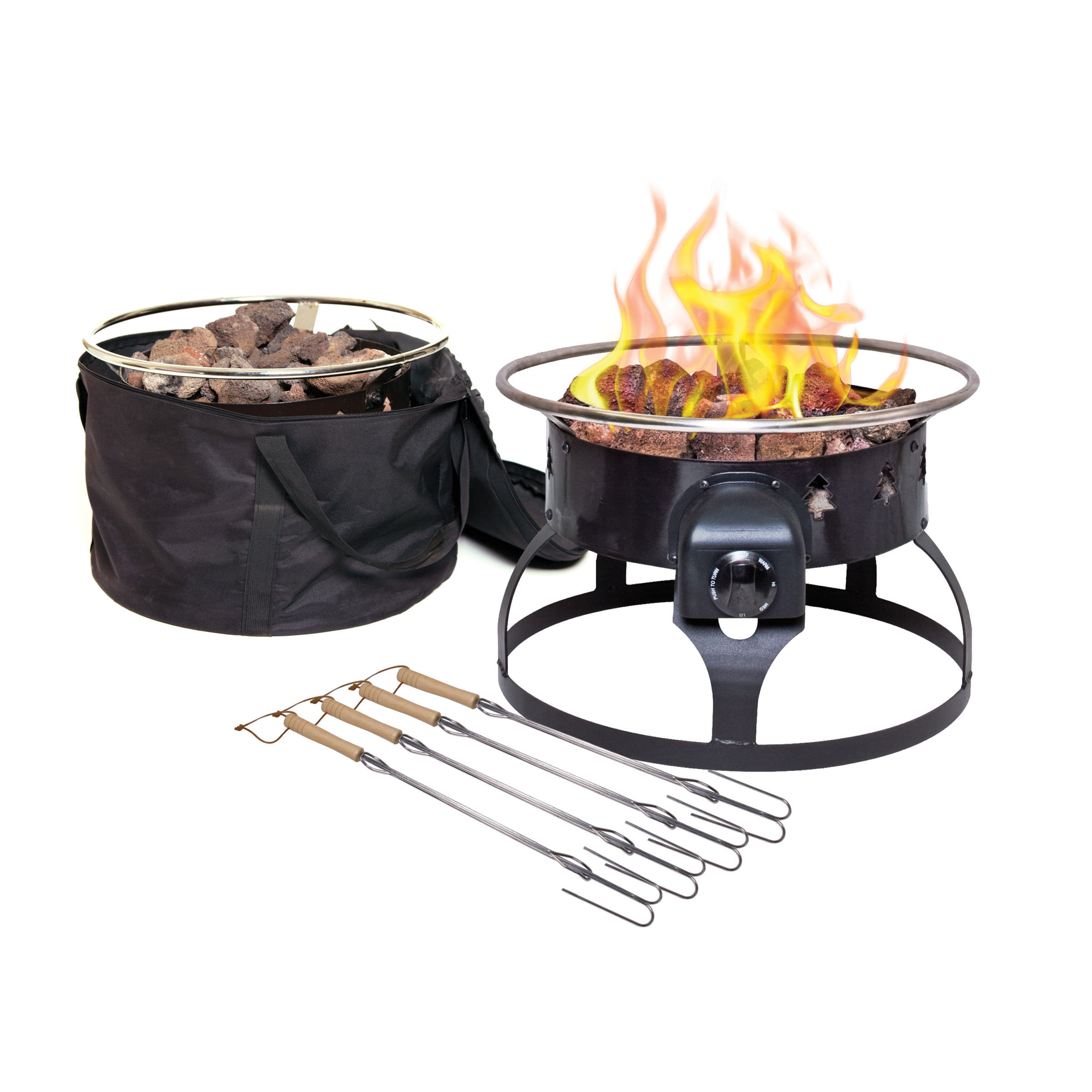 Camp Chef GCLOGD Outdoor Camping Redwood Fire Pit ...