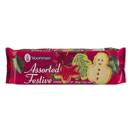 2 Pack Voortman Assorted Festive Cookies 10 6 Oz Walmart Com