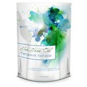 Tea Tree Oil Foot Soak - 24oz - Helps Treat Nail Fungus , Athletes Foot & Stubborn Foot Odor