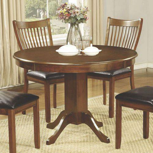 Coaster Company Sierra Collection Dining Table in Amber