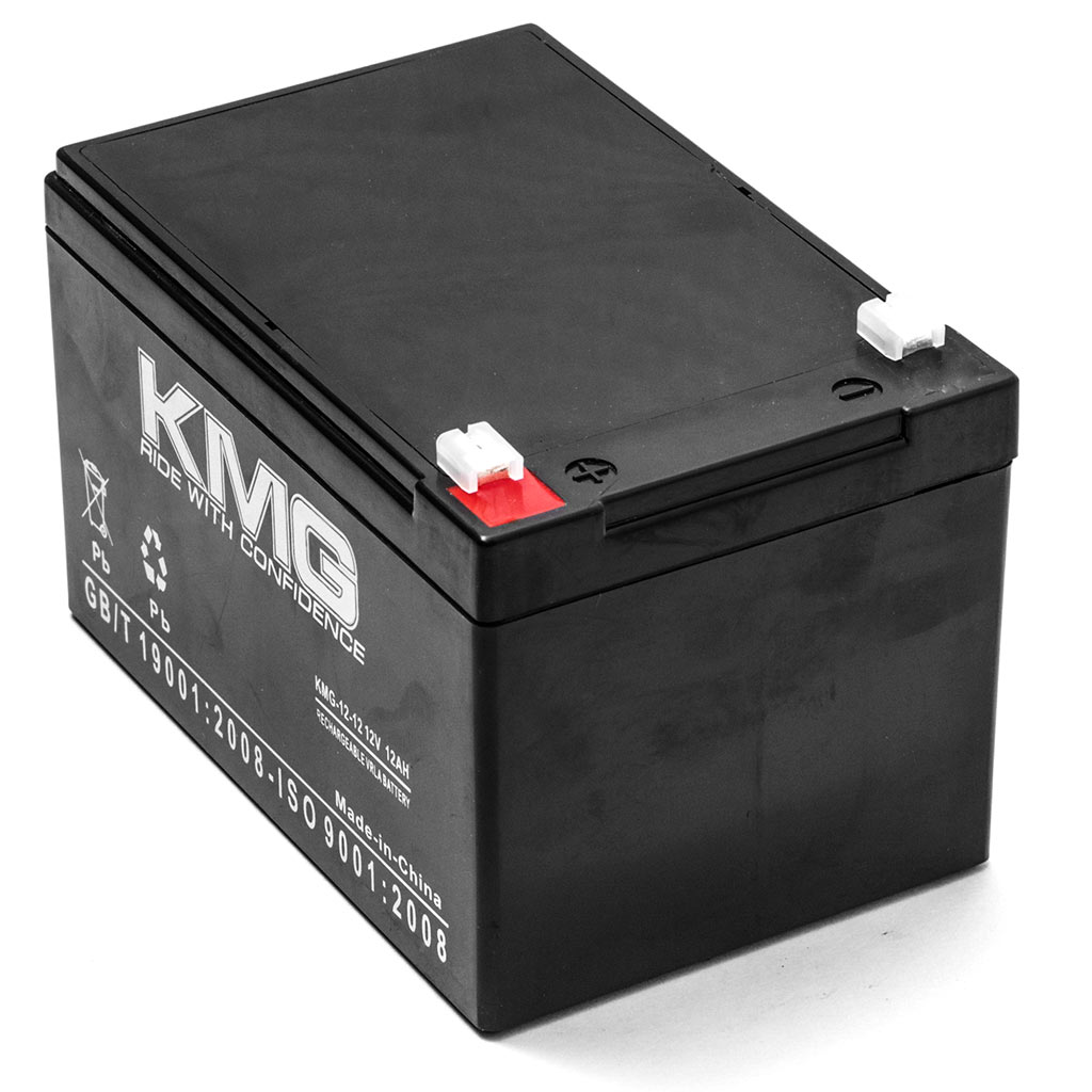 KMG 12V 12Ah Replacement Battery for Panasonic LCR12V12P LC-RA1212P1 NV0801 - image 2 de 3