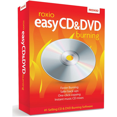 Roxio Easy CD and DVD Burning 2011 (Windows)