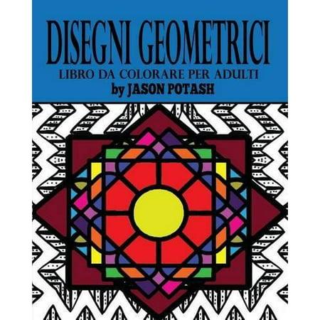 Disegni Geometrici Libro Da Colorare Per Adulti