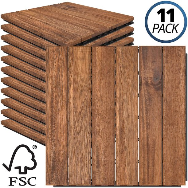 Sustainably Sourced Solid Acacia Wood