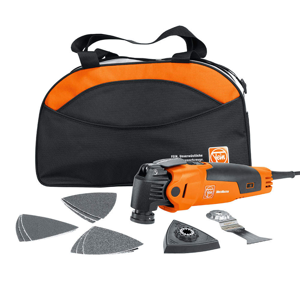 Fein 72295264090 Oscillating Multi-Tool with bag and Start Accessory FMM350QSL by FEIN POWER TOOLS INC