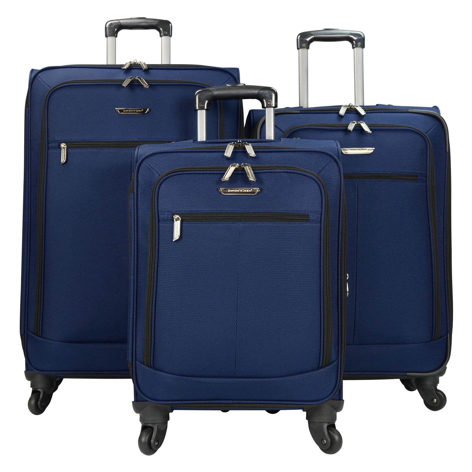 Travelers Choice 3 Piece Lightweight Expandable Spinner Luggage Set