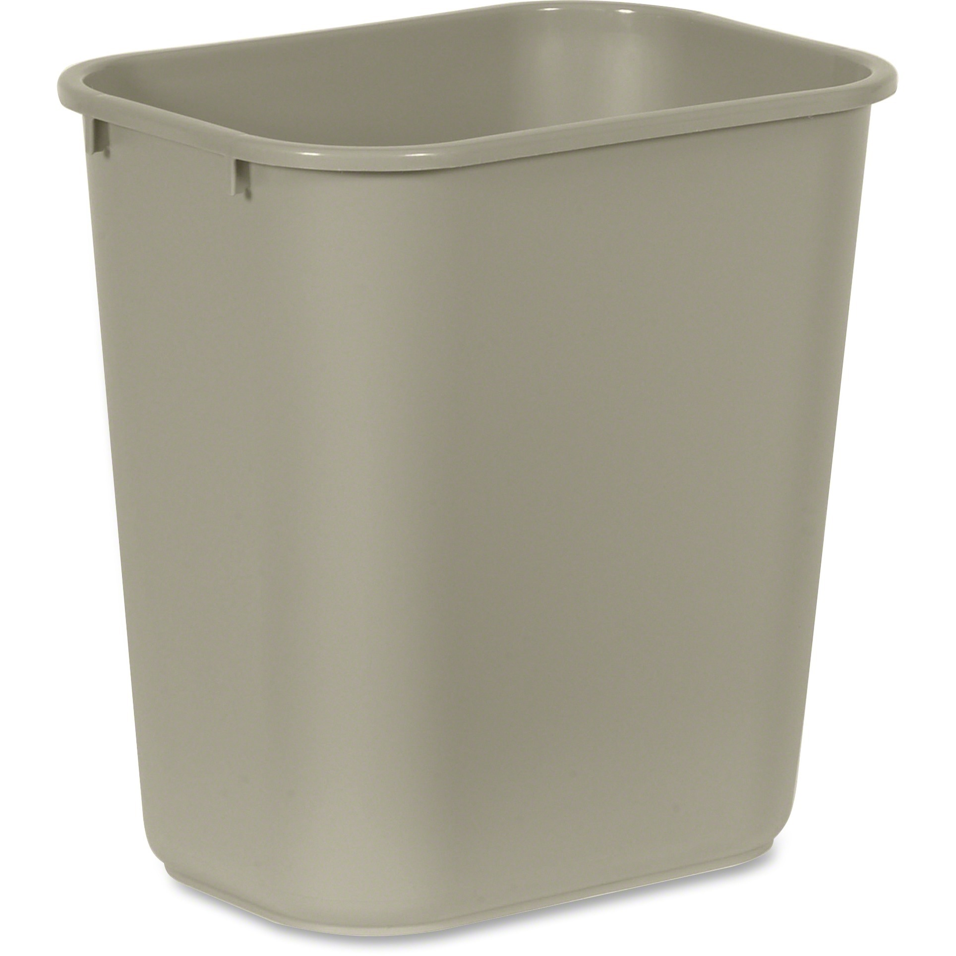 Rubbermaid Commercial, RCP295600BG, Standard Series Wastebaskets, 1, Beige