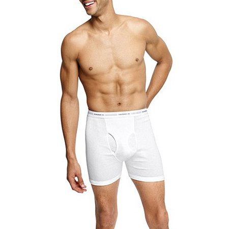 hanes men 39 s 4pk white boxer brief. Black Bedroom Furniture Sets. Home Design Ideas