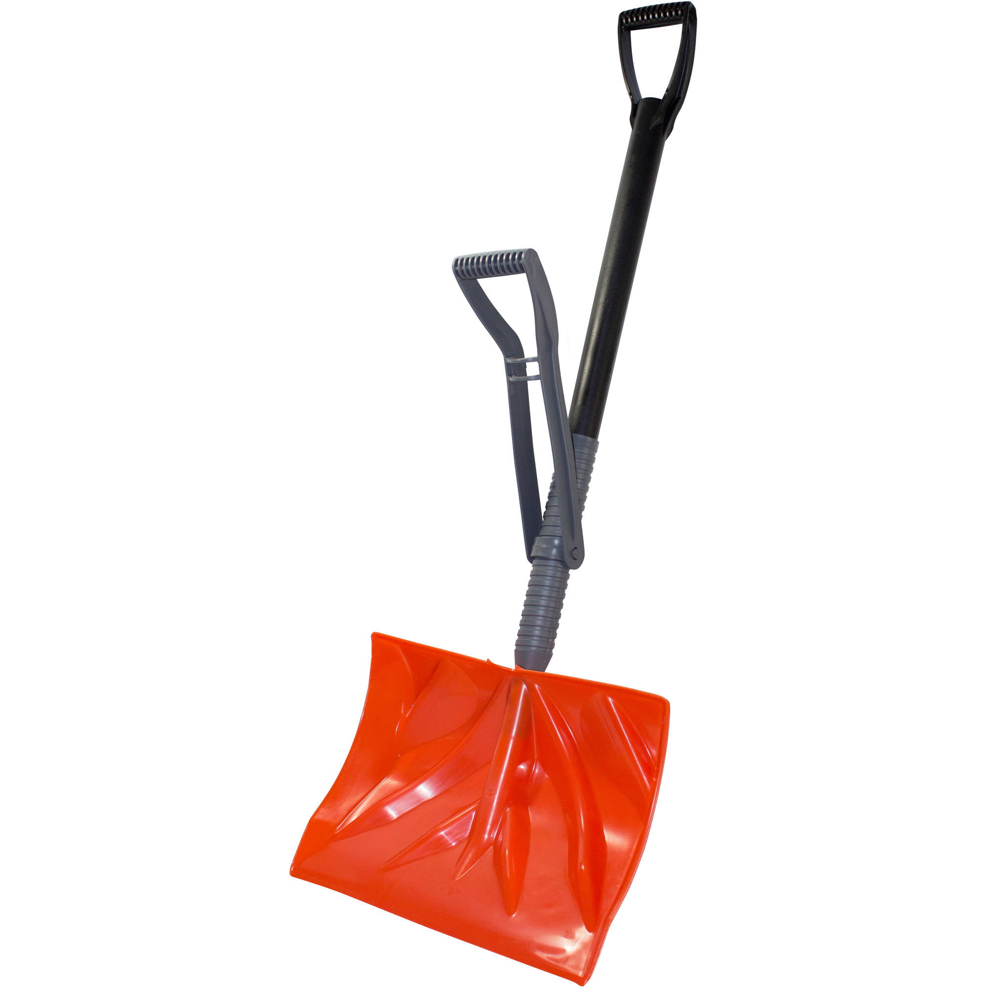 "Bigfoot 18"" Combination Snow Shovel with Adjustable Ergonomic Handle � Alleviates... by EMSCO Group"