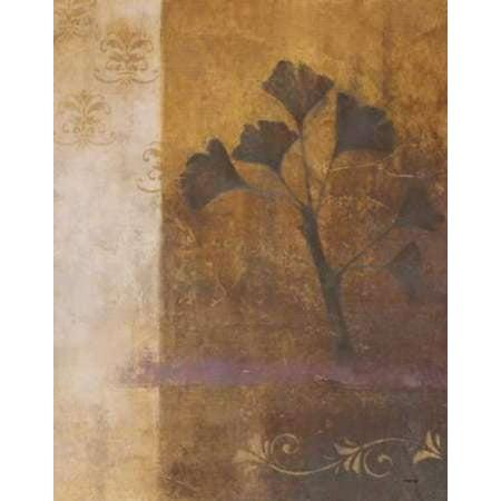 Woodland Shadows (Woodland Shadows I Poster Print by Cheryl Martin)