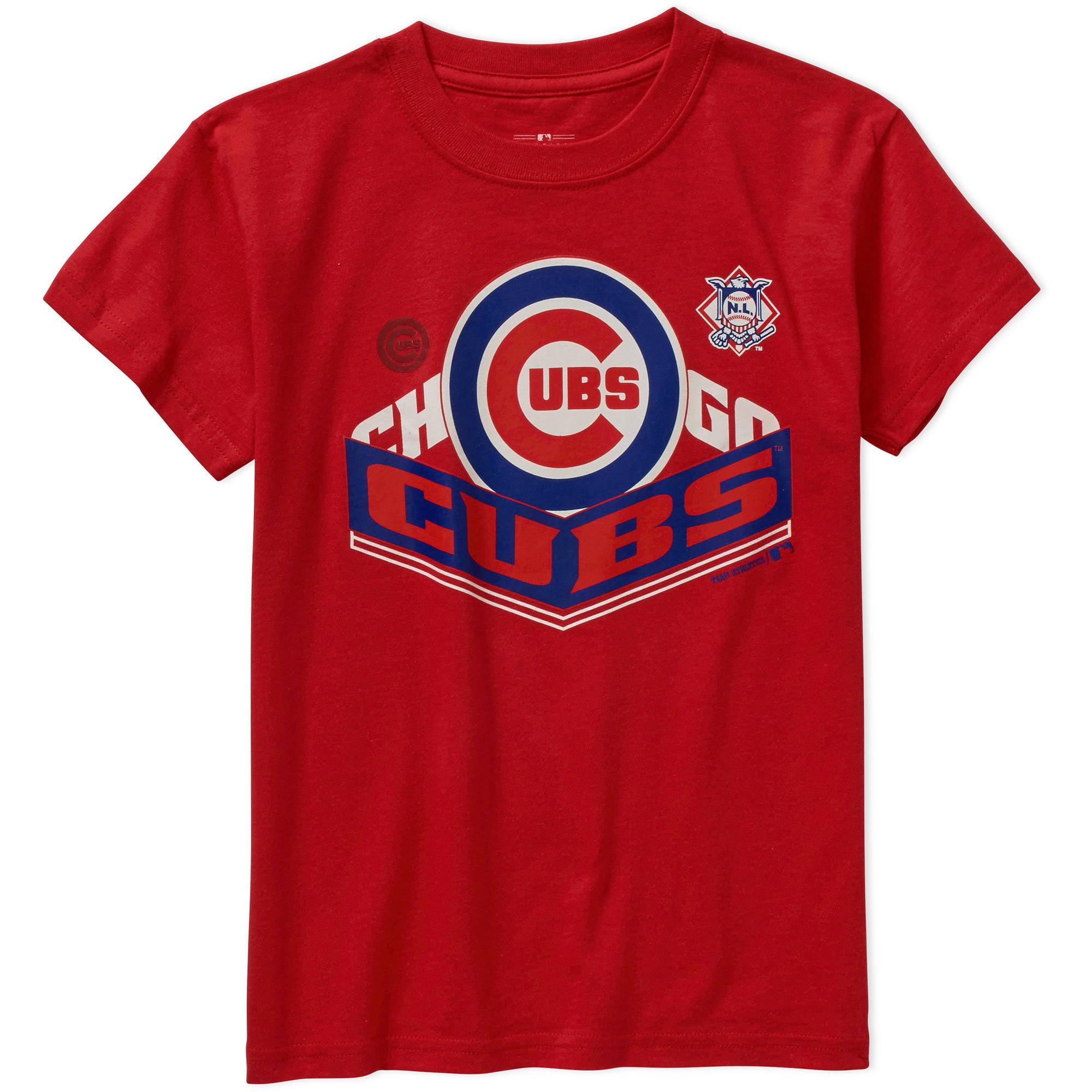 MLB  Boys Chicago Cubs  Alternate Team Short Sleeve Tee