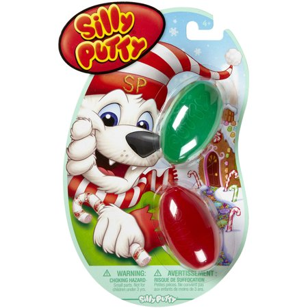 Silly Putty 2 Pkg Holiday Fun