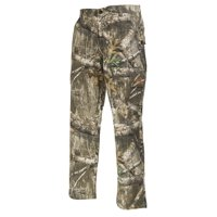 Realtree Edge Camo Cargo Pants by Hyde Gear 6 Pockets, Stretch Fabric, Water Repellent Finish, Outdoor, Hunting - XXL - Edge Camo