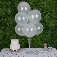 "Efavormart 25pcs 12"" Metallic Latex Balloons Round Balloons for Wedding Event Decorations Birthday Party Graduation  Party Supplies"
