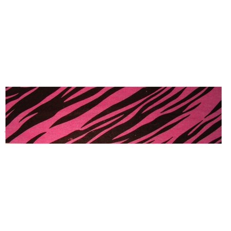 Kenz Laurenz Cotton Headband Soft Stretch Headbands Sweat Absorbent Elastic Head Band Zebra Pink - Zebra Headband