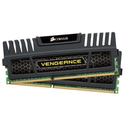 Corsair CMZ16GX3M2A1600C10 Corsair Vengeance 16GB DDR3 SDRAM Memory Module - 16 GB (2 x 8 GB) - DDR3 SDRAM - 1600 MHz DDR3-1600/PC3-12800 - Non-ECC - Unbuffered - 240-pin - DIMM