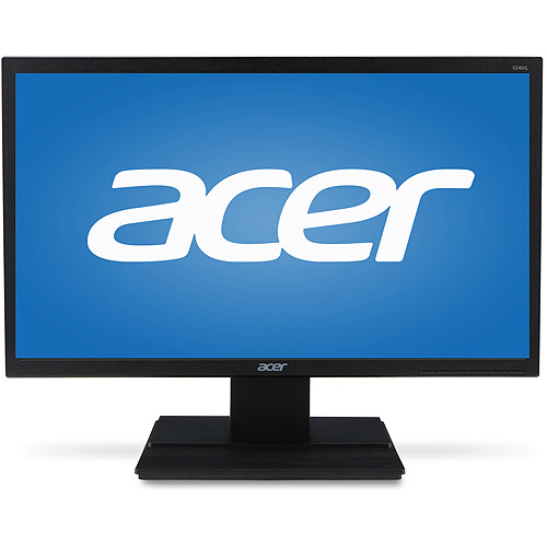"Acer Essential 24"" LCD Widescreen Monitor (V246HL bmid Black)"