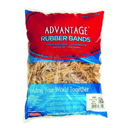 Advantage Rubber Bands #33, 1lb. Bag