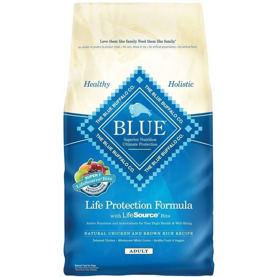 Blue Buffalo Adult Chicken & Brown Rice Dry Dog Food - 6lb