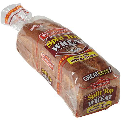 Stroehmann Split Top Wheat Bread, 23 oz